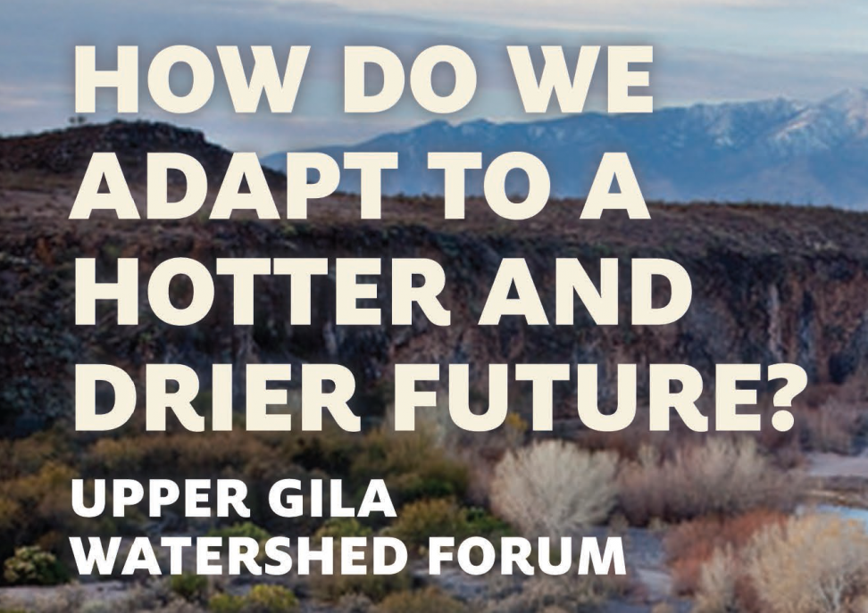 Upper Gila Watershed Conference